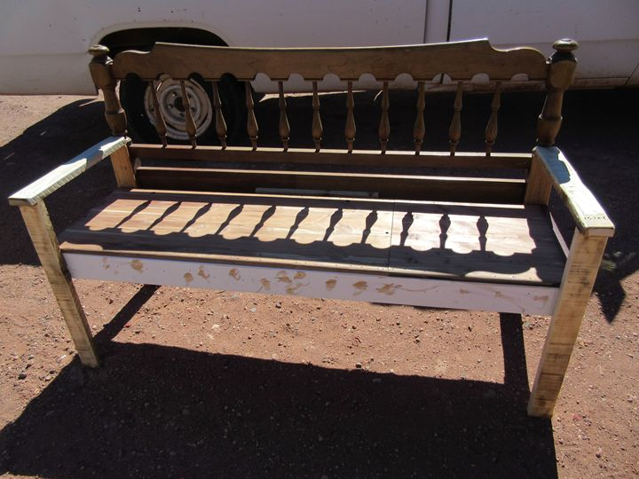 Unfinished Bench - My Evil Twin
