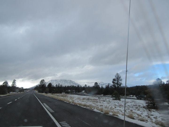 Nearing Flagstaff - My Evil Twin
