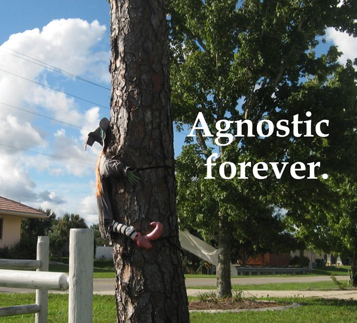 Agnostic forever. - My Evil Twin