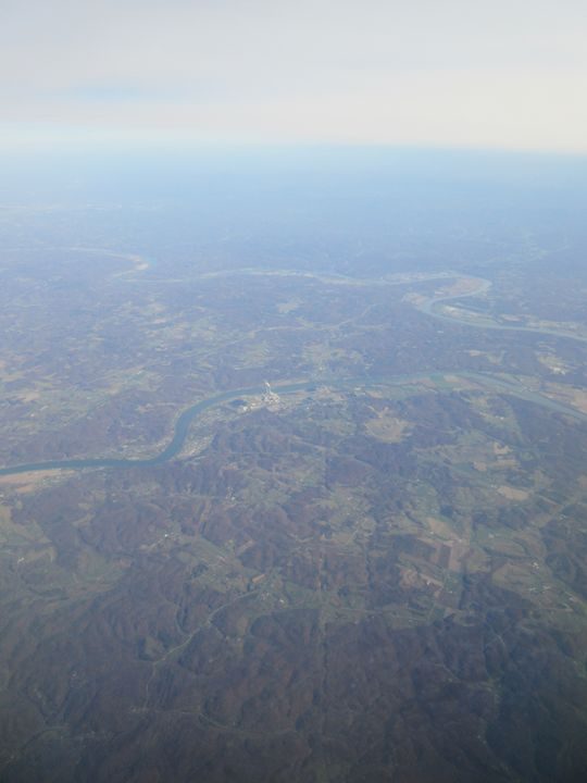 Ohio Aerial Photograph - My Evil Twin
