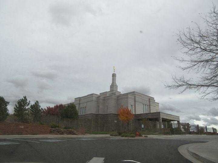 Snowflake Mormon Temple - My Evil Twin
