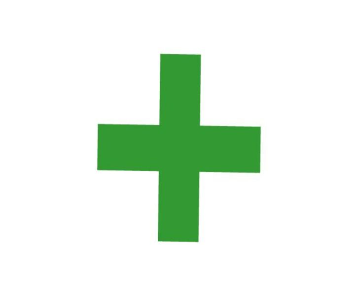 Green Cross Flag - My Evil Twin