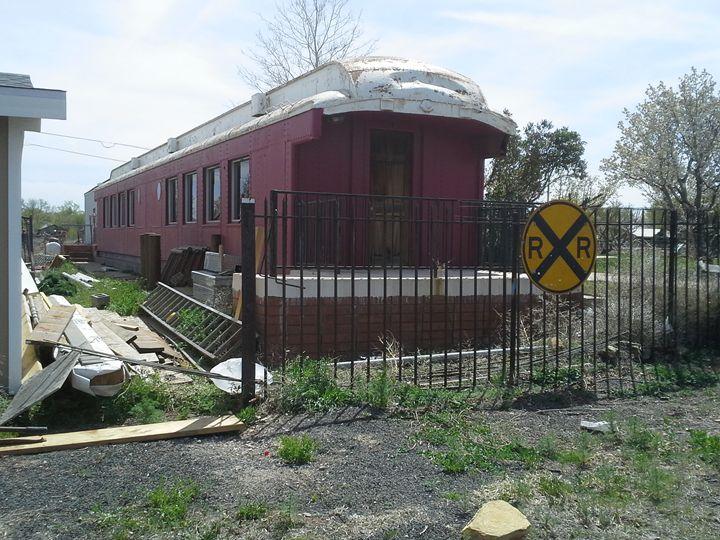 Old Train Car - My Evil Twin