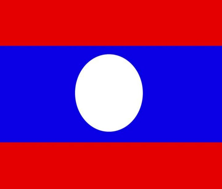 Laos Flag - My Evil Twin