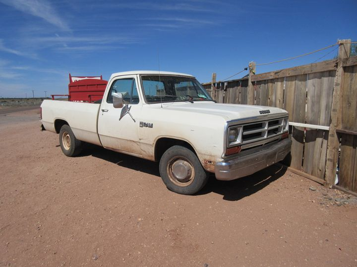 1986 Dodge Truck - My Evil Twin