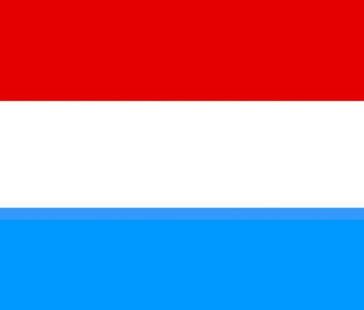 Luxembourg Flag - My Evil Twin