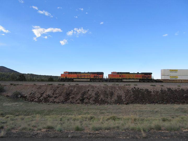 BNSF Train Engines - My Evil Twin