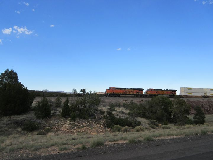 BNSF Train Engines - My Evil Twin