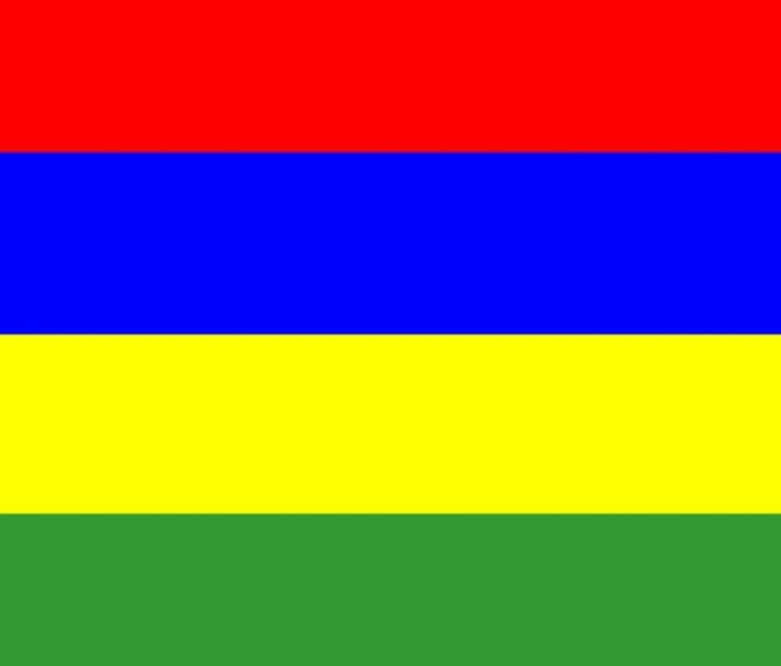 Mauritius Flag - My Evil Twin