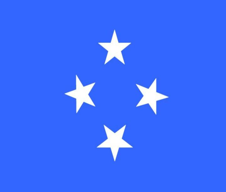 Micronesia Flag - My Evil Twin