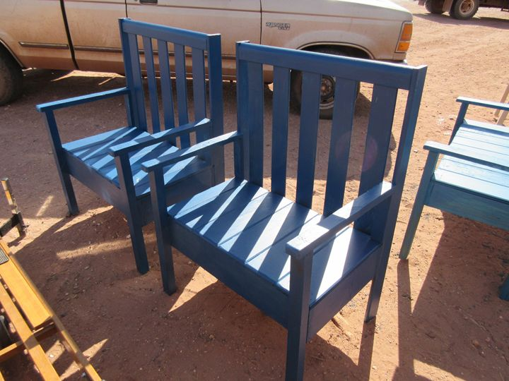 Blue Benches - My Evil Twin