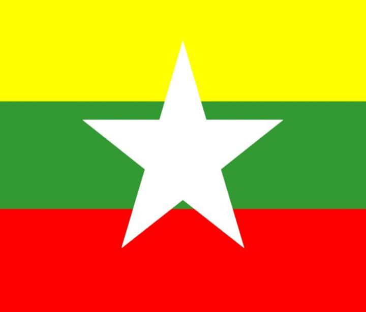 Myanmar Flag - My Evil Twin