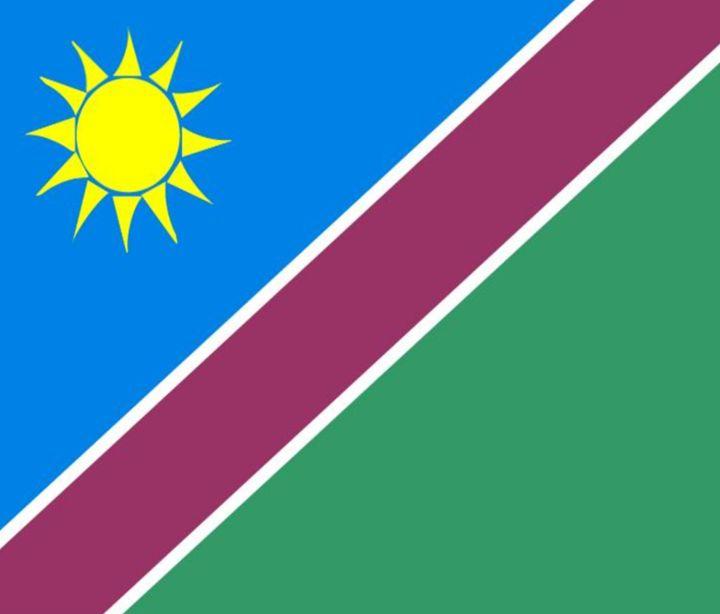 Namibia Flag - My Evil Twin