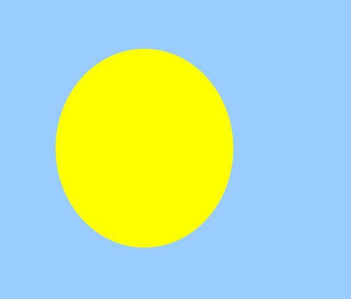 Palau Flag - My Evil Twin