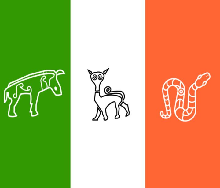 Pictish Ireland Flag - My Evil Twin