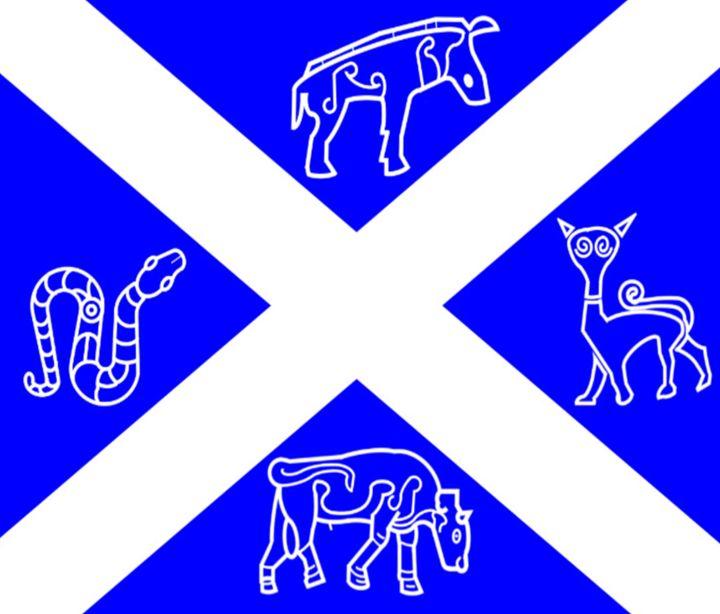 Pictish Scotland Flag - My Evil Twin