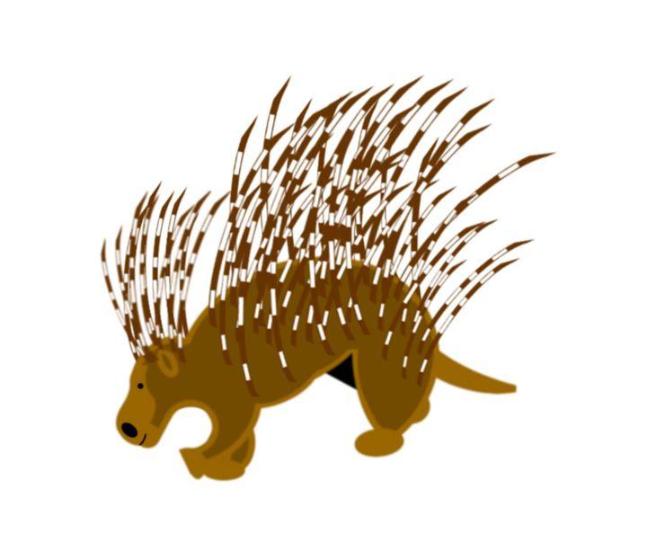 Porcupine - My Evil Twin