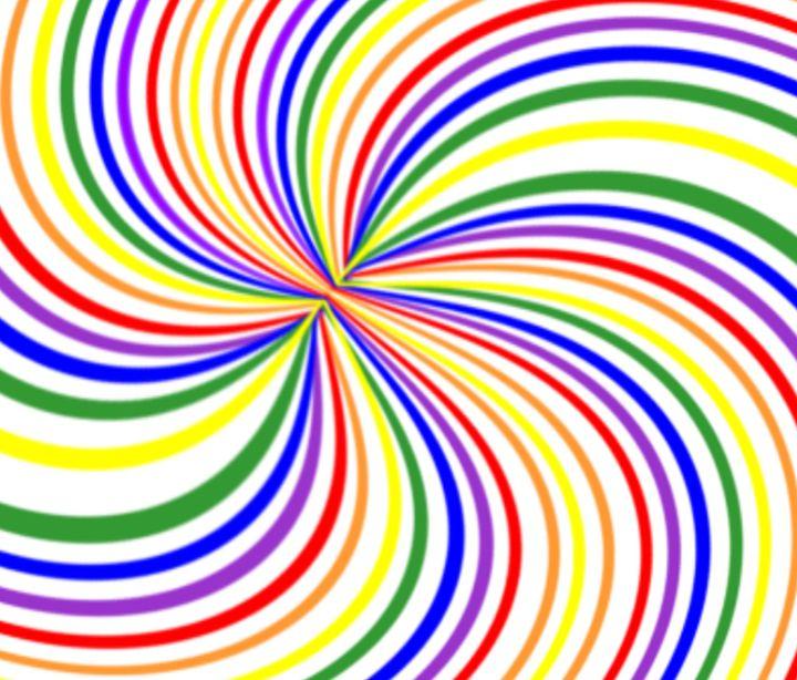 Swirling Rainbow - My Evil Twin