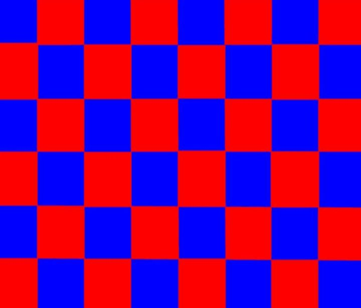 Red & Blue Checkered Flag - My Evil Twin