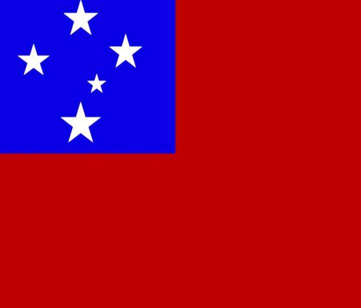 Samoa Flag - My Evil Twin