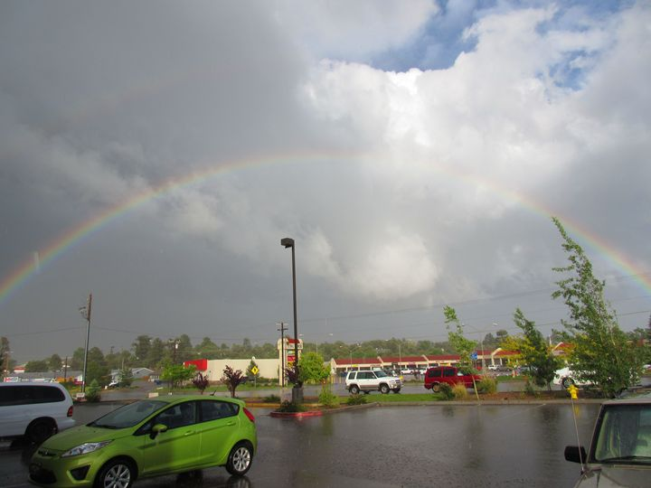 Rainbow Over Show Low - My Evil Twin