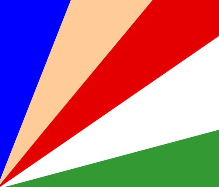 Seychelles Flag - My Evil Twin