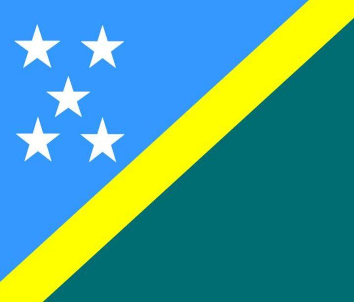 Solomon Island Flag - My Evil Twin