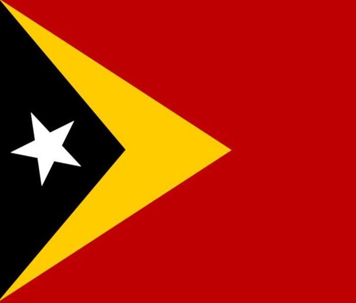 Timor-Leste Flag - My Evil Twin