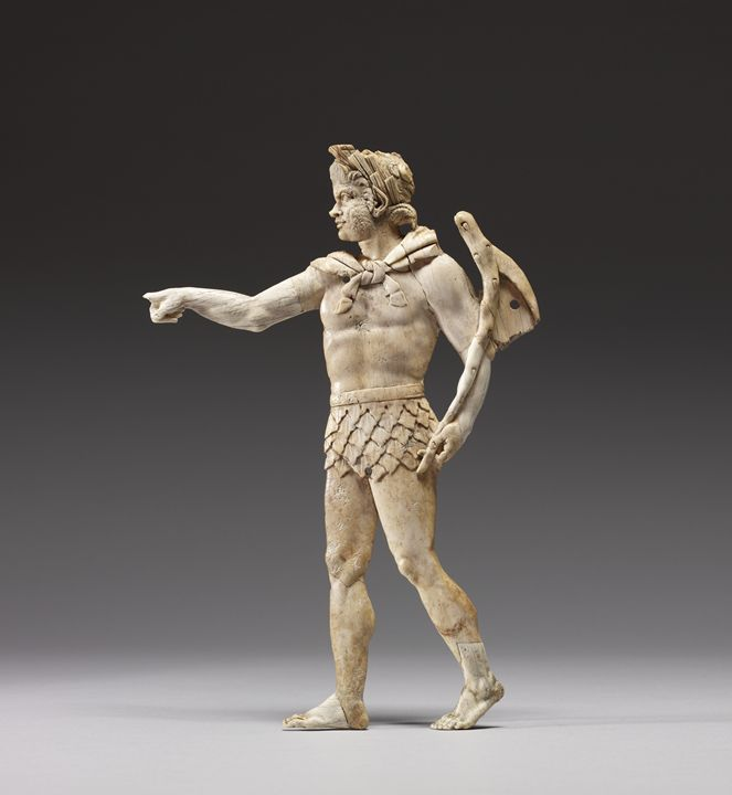 Greek Satyr Walking To Left - My Evil Twin