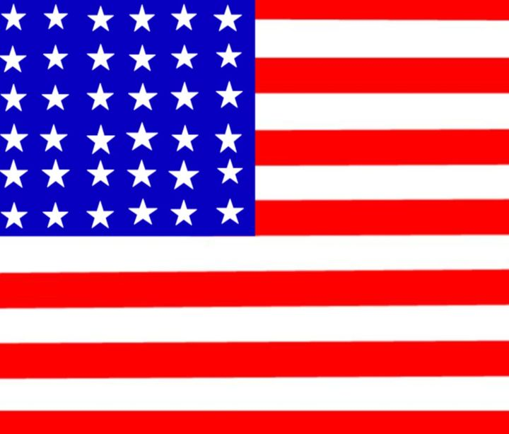 United States (30 Stars) Flag - My Evil Twin