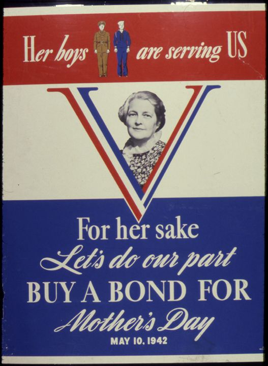 1942 War Bond Poster - My Evil Twin
