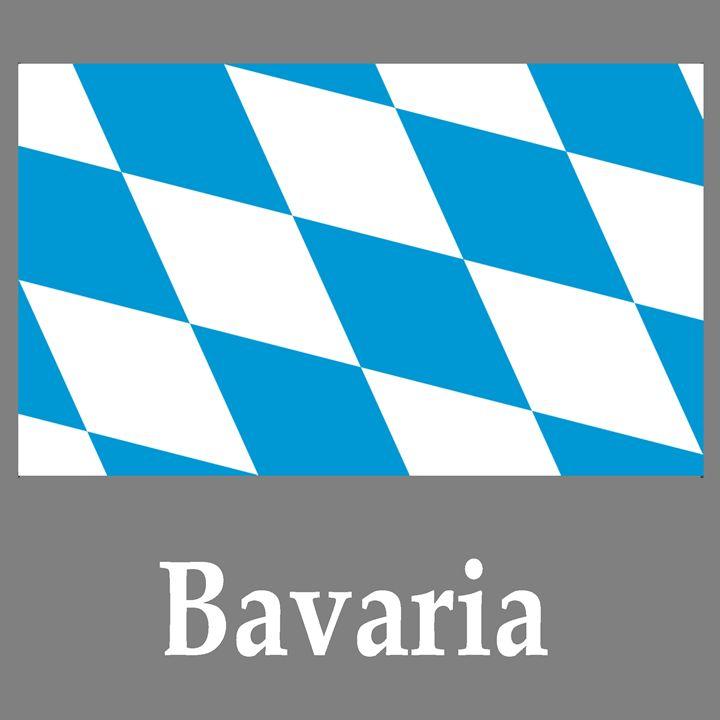 Bavaria Flag And Name - My Evil Twin