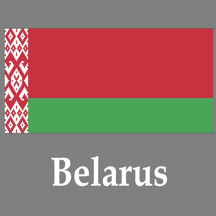 Belarus Flag And Name - My Evil Twin