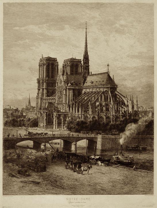 Notre Dame, Paris - My Evil Twin