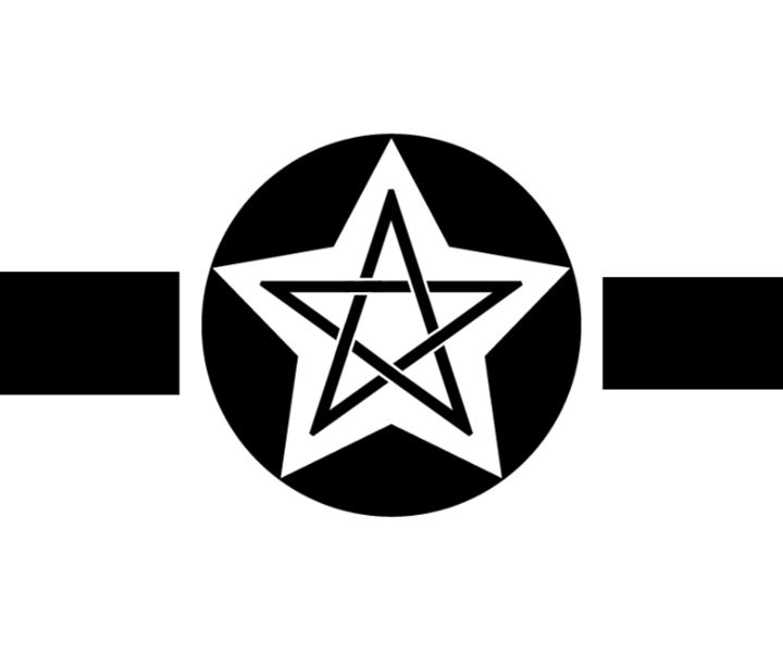 Wiccan Military Symbol - My Evil Twin