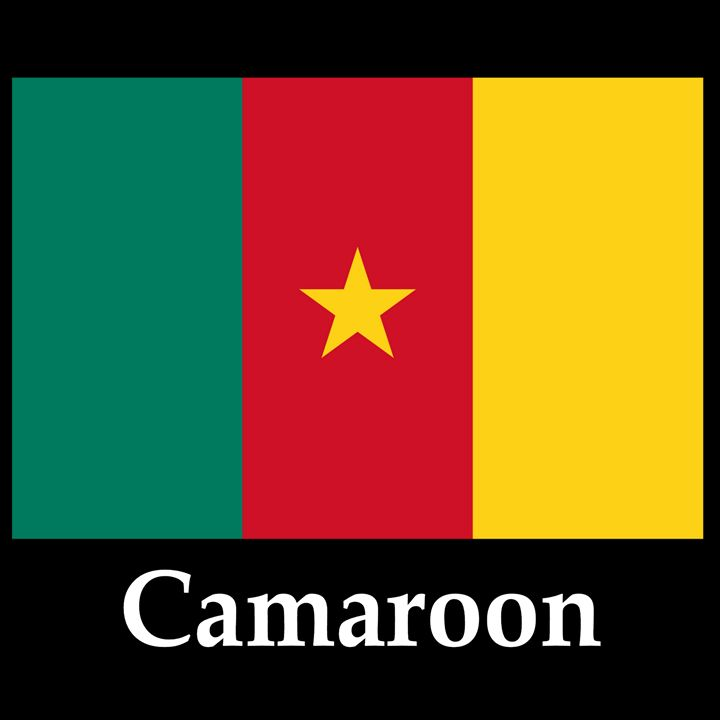 Camaroon Flag And Name - My Evil Twin