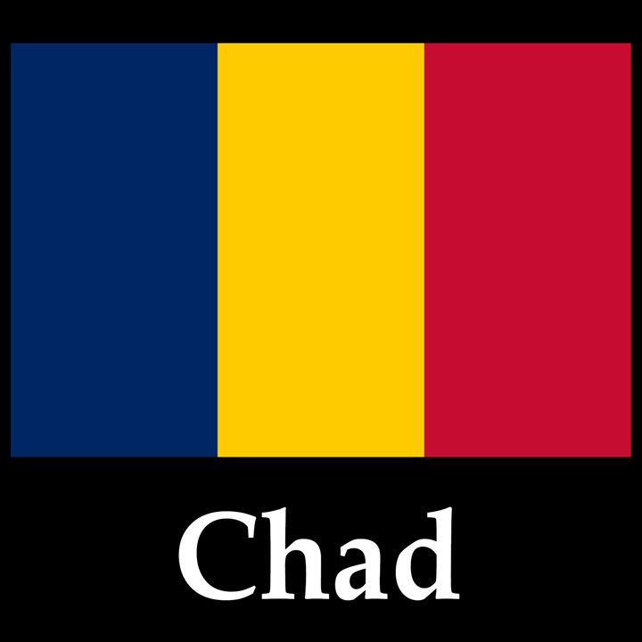 Chad Flag And Name - My Evil Twin