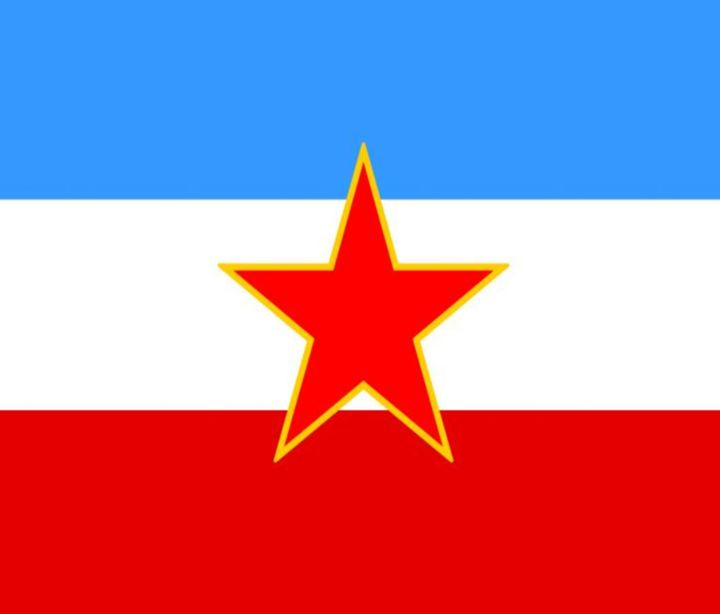 Yugoslavia Flag - My Evil Twin