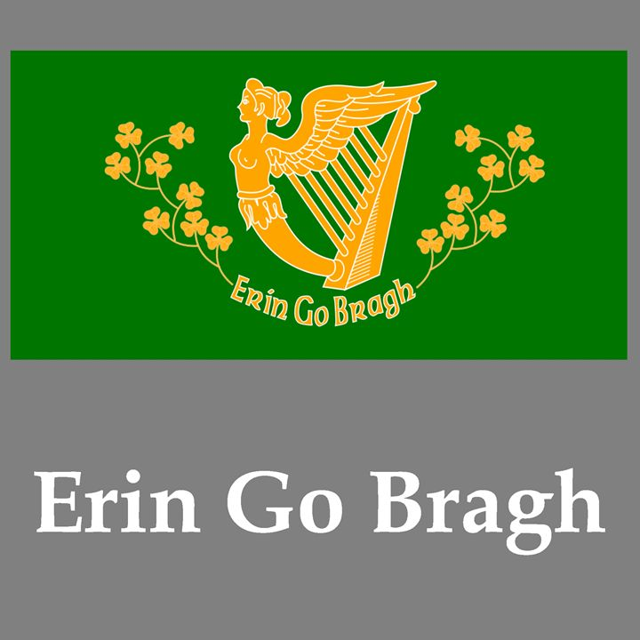 Erin Go Bragh Flag And Name - My Evil Twin