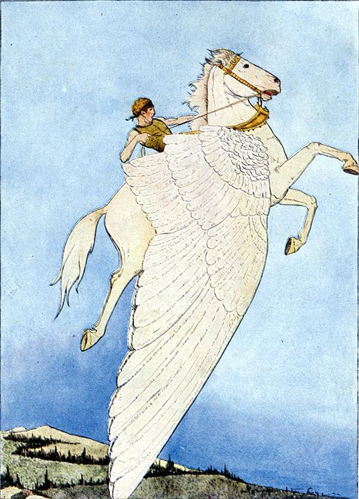 The Winged Horse - My Evil Twin