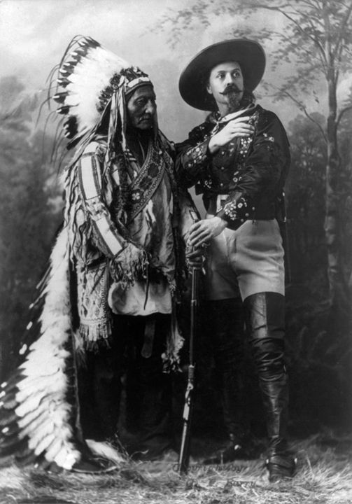Sitting Bull And Buffalo Bill Cody - My Evil Twin