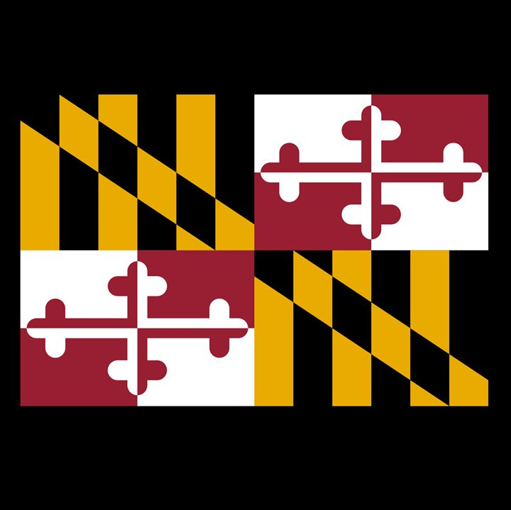 Maryland Flag - My Evil Twin