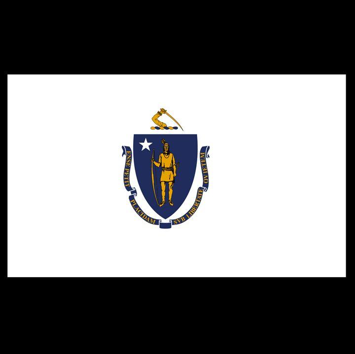 Massachusetts Flag - My Evil Twin