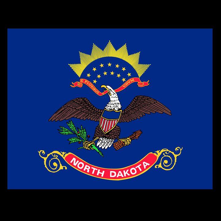 North Dakota Flag - My Evil Twin