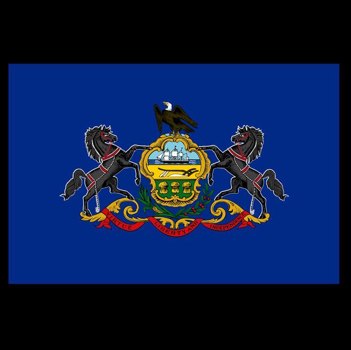 Pennsylvania Flag - My Evil Twin