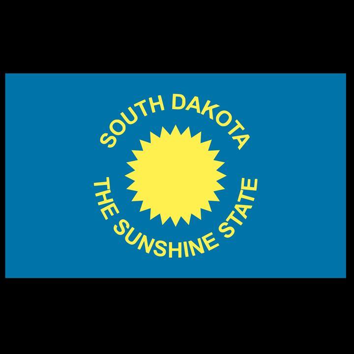 South Dakota Flag - My Evil Twin