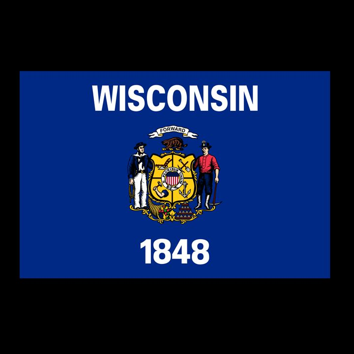 Wisconsin Flag - My Evil Twin