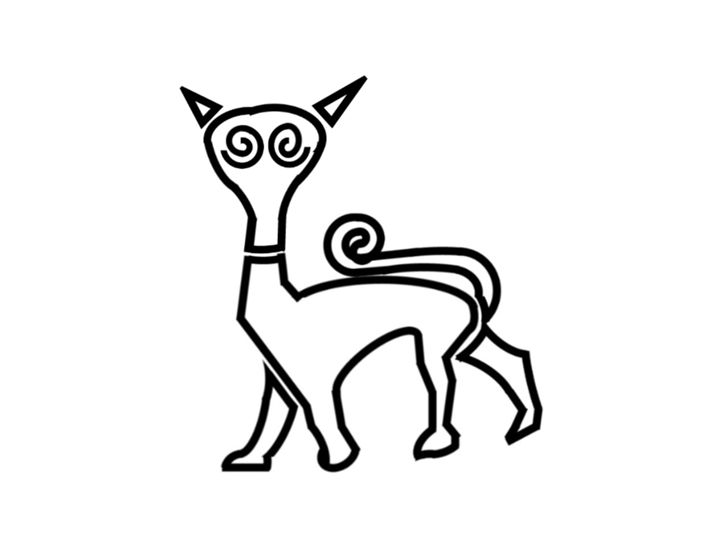 Pictish Cat - My Evil Twin