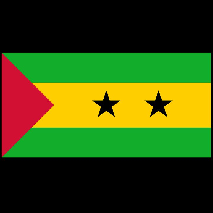Sao Tome And Principe Flag - My Evil Twin