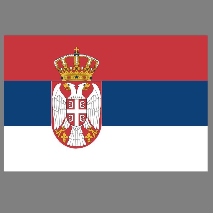 Serbia Flag - My Evil Twin